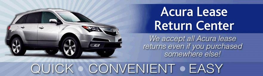 Learn More About the Acura of Avon Lease Return Center
