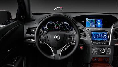 2017 RLX interior