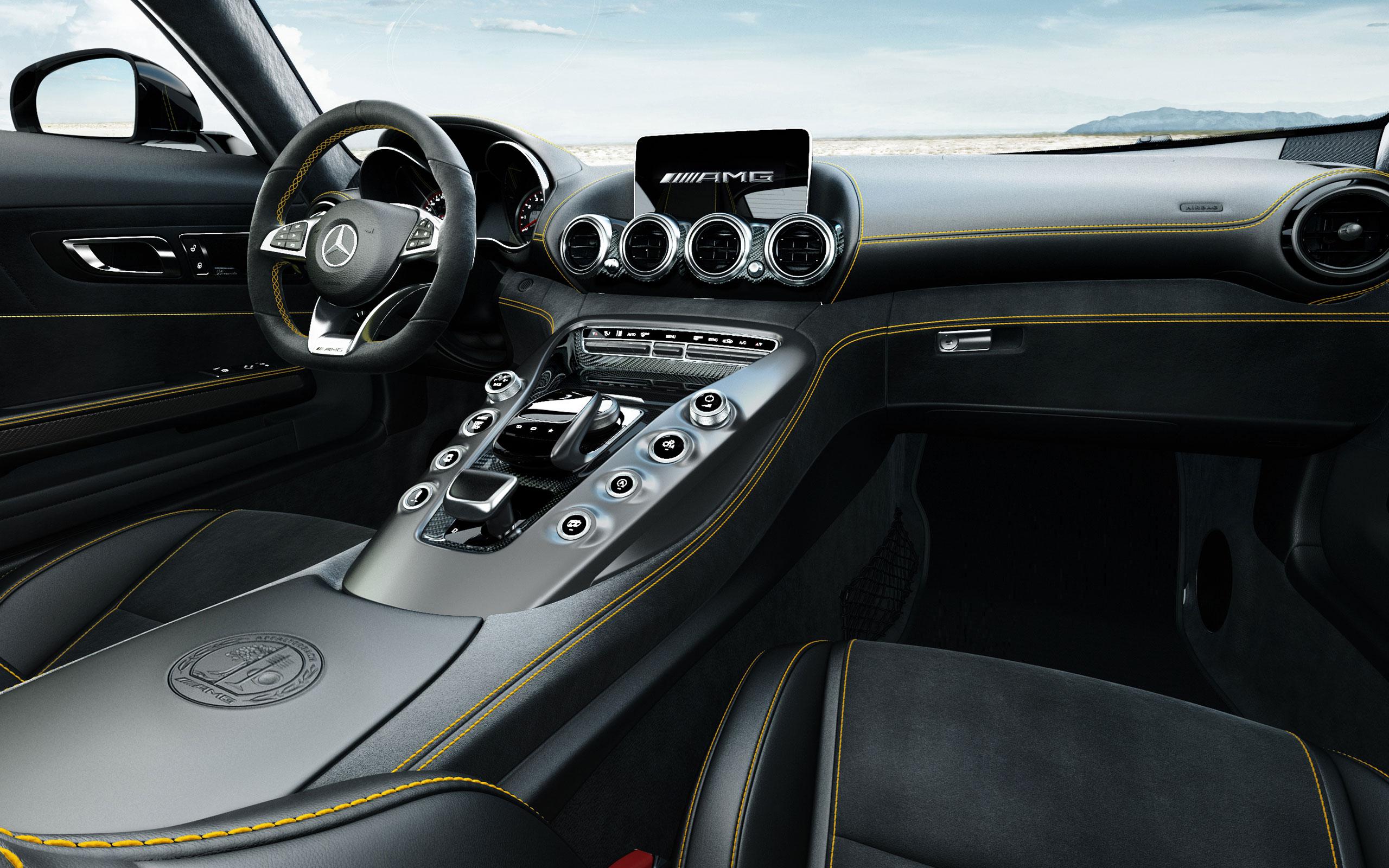 2016 AMG GT S Interior