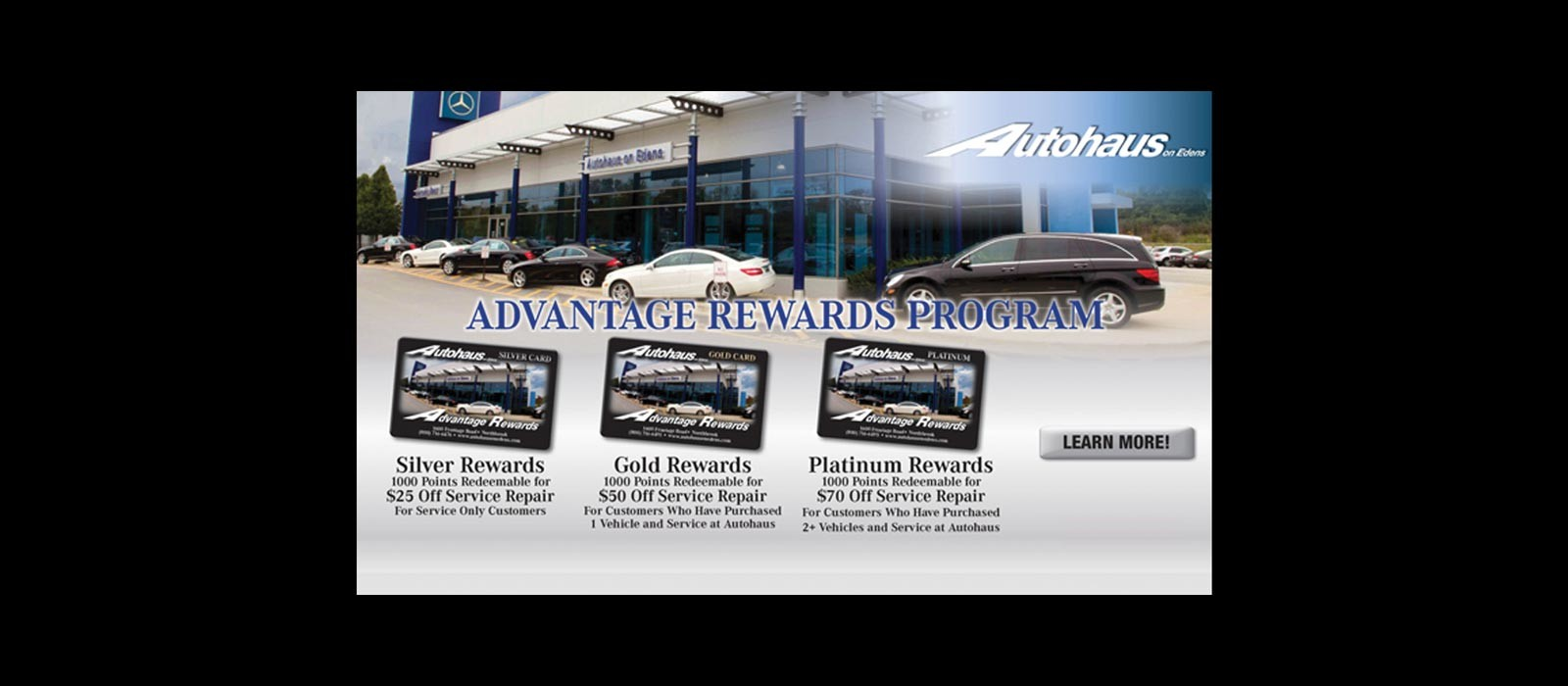 Mercedes benz dealer in northbrook il autohaus on edens for Mercedes benz loyalty program