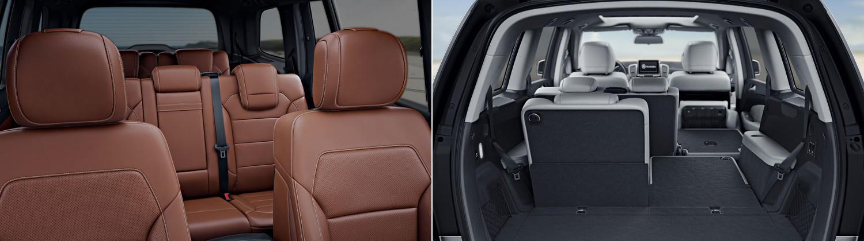 2017 Mercedes-Benz GLS550 Interior & Capability