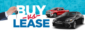 Buying vs leasing a vehicle in North Canton, Ohio