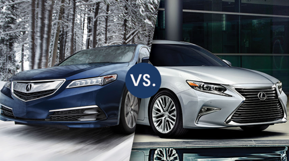 COMPARISON: 2017 Acura TLX Vs Lexus ES 350 | Friendly Acura Of Middletown