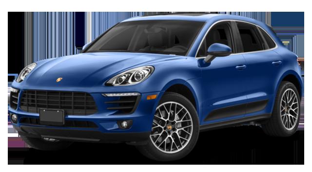 2017 Porsche Macan Blue