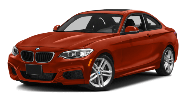 2016 BMW 2 Series red exterior