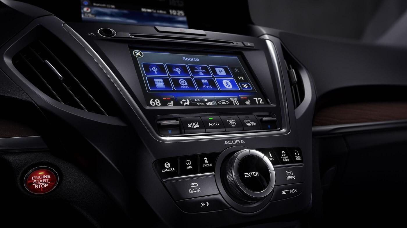2017 Acura MDX Touchscreen