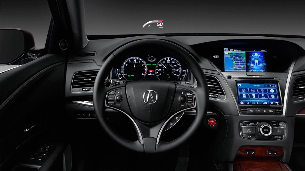 2017 Acura RLX front interior