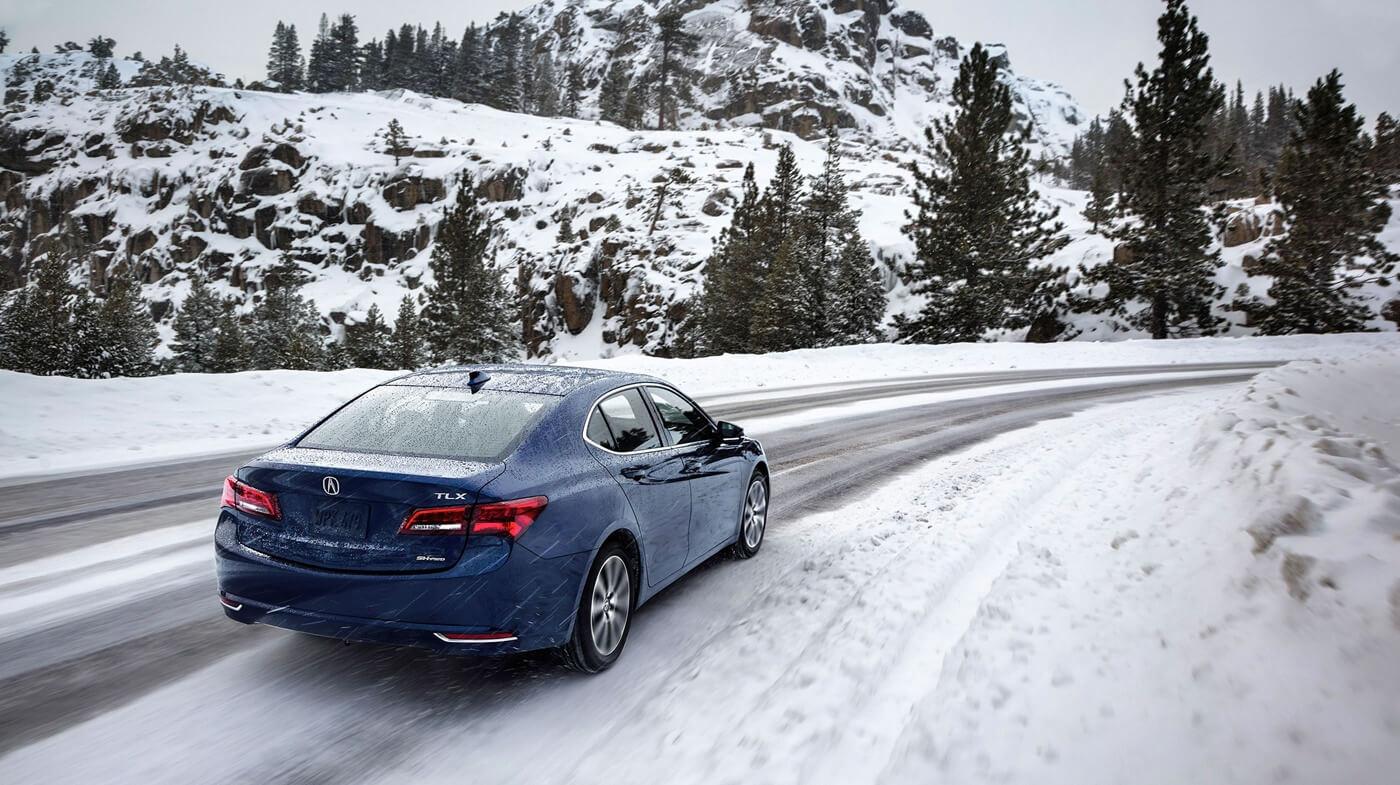 2017 Acura TLX Snow