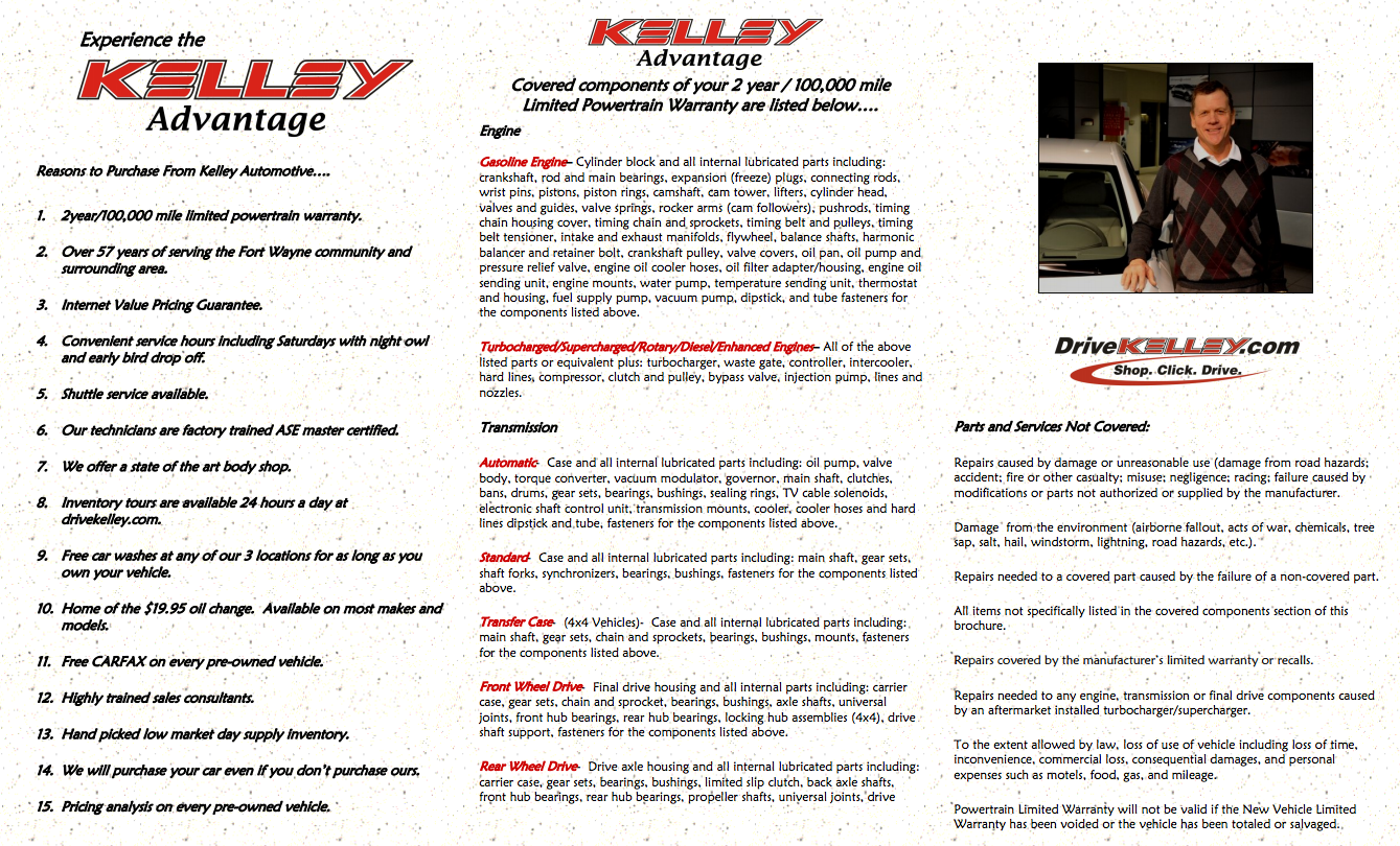 The Kelley Advantage 2