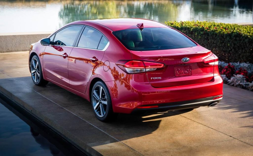 2018 Kia Forte back view