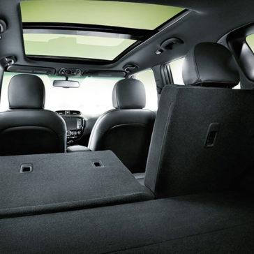 2018 Kia Soul cargo space