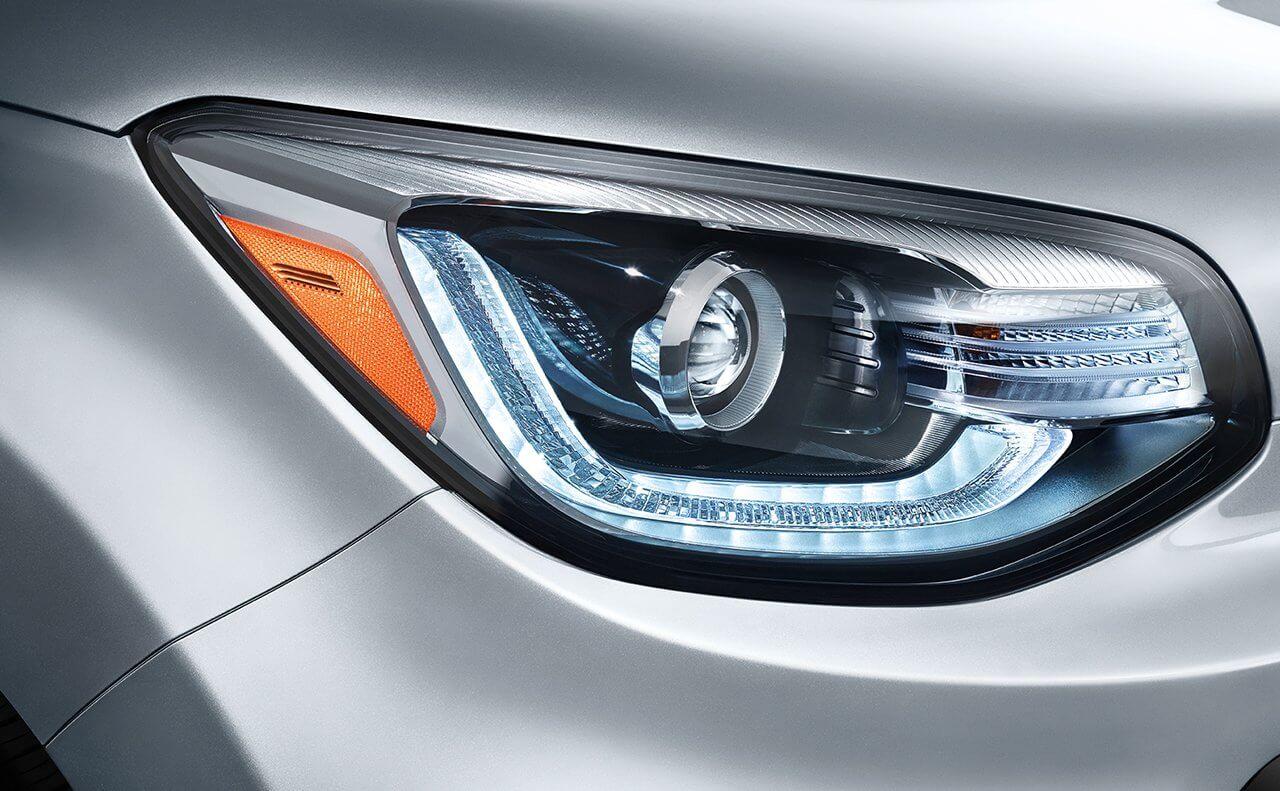 2018 Kia Soul LED headlights