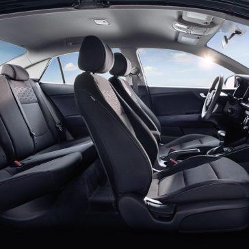 2018 Kia Rio interior seating