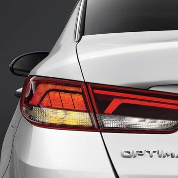 2019 Kia Optima rear light