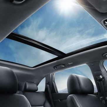 2019 Kia Sorento panoramic roof