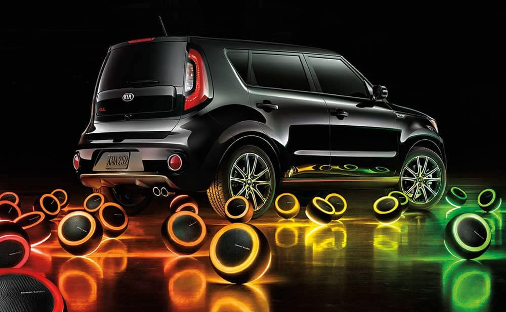 2019 Kia Soul exterior speakers