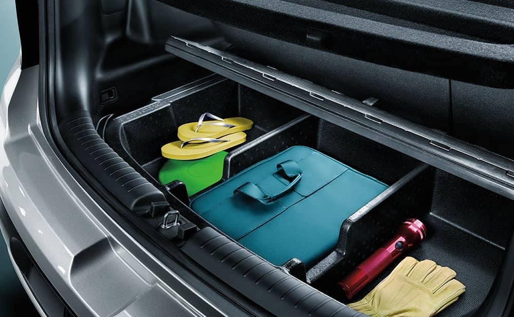 2019 Kia Soul interior rear luggage