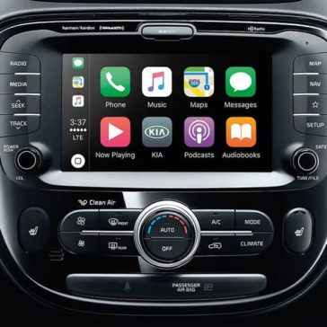 2019 Kia Soul technology display