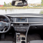 2020 Kia Optima interior dashboard