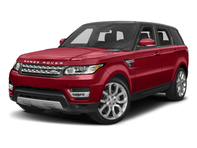 red 2017 Land Rover Range Rover Sport