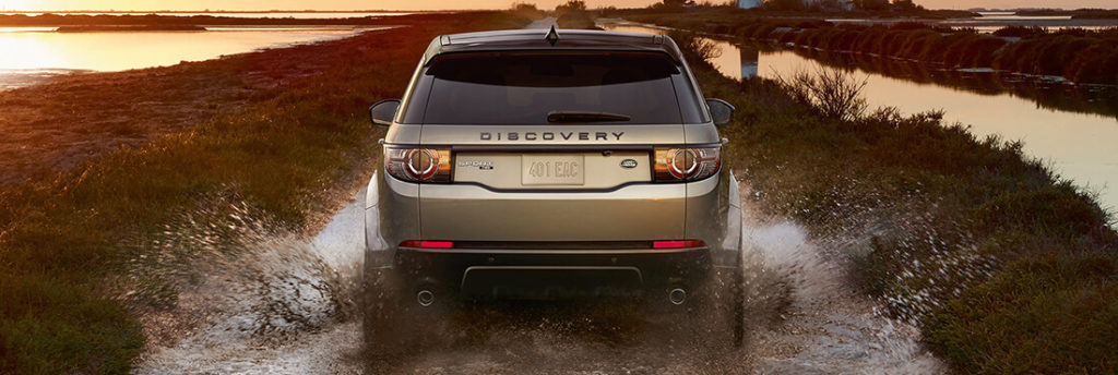 2017 Land Rover Discovery Sport Muddy