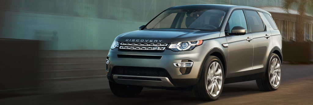 2017 Land Rover Disocvery Sport Driving