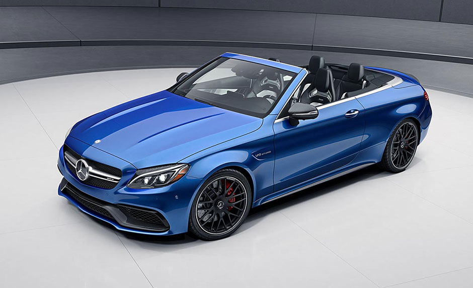 2017 AMG C63-S Cabriolet Brilliant Blue Metallic