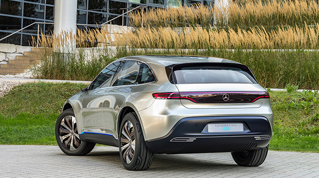 Electric Vehicles from Mercedes-Benz