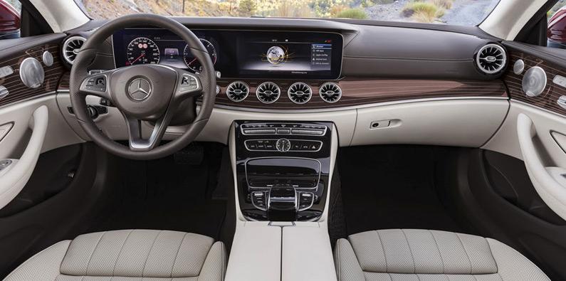 e-class coupe interior