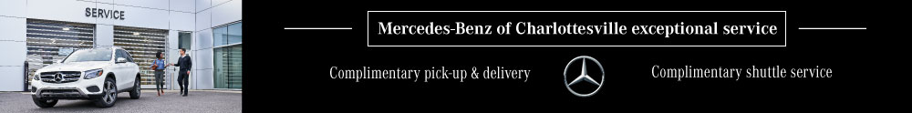 Mercedes-Benz of charlottesville complimentary services