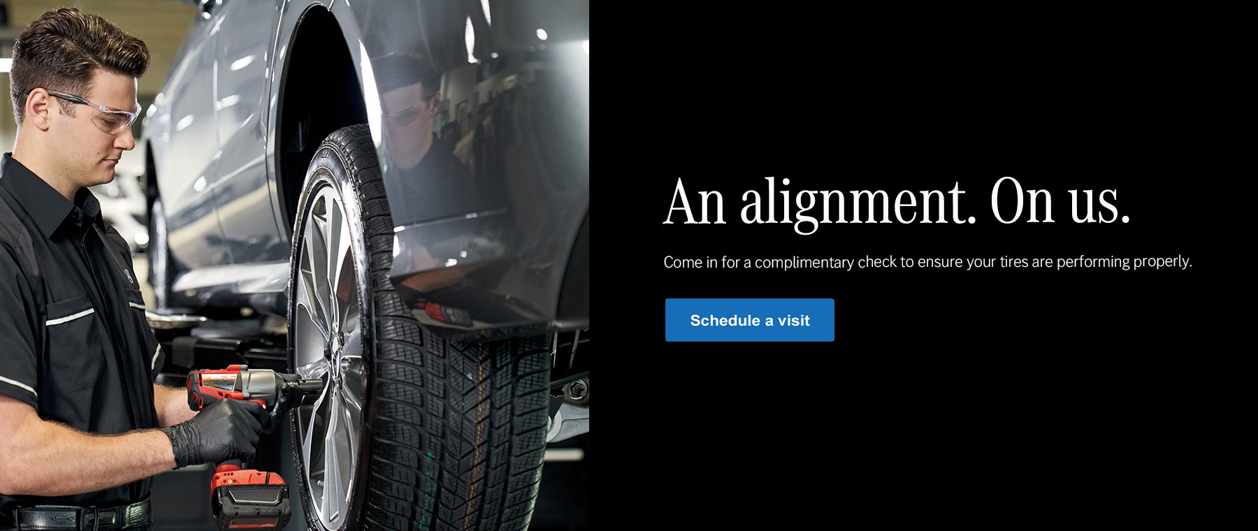 mercedes-benz of charlottesville tire alignment
