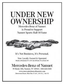Mercedes-Benz Supports Nanuet Sports Hall of Fame