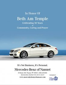 Mercedes-Benz of Nanuet Supports Beth Am Temple