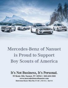Mercedes-Benz of Nanuet Supports Boy Scouts of America
