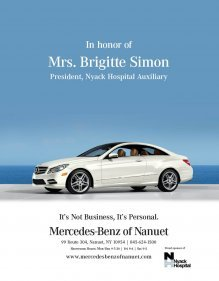 Mercedes-Benz of Nanuet Supports Brigitte Simon