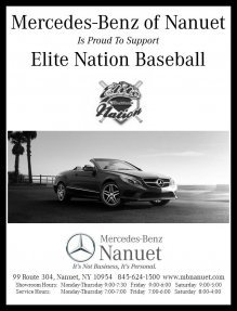 Mercedes-Benz of Nanuet Supports Elite Nation Baseball