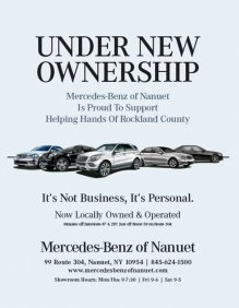 Mercedes-Benz of Nanuet Supports Helping Hands