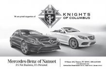 Mercedes-Benz of Nanuet Supports Knights of Columbus