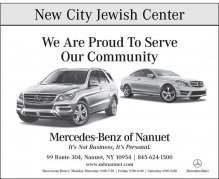 Mercedes-Benz of Nanuet Supports New City Jewish Center