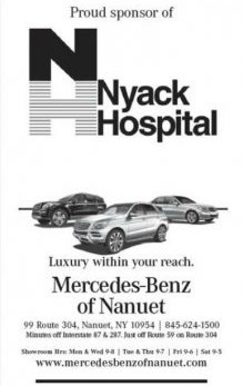 Mercedes-Benz of Nanuet Supports Nyack