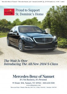 Mercedes-Benz of Nanuet Supports St Dominics Home