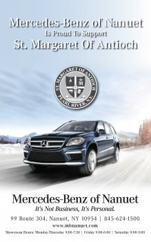 Mercedes-Benz of Nanuet Supports St Margaret of Antioch
