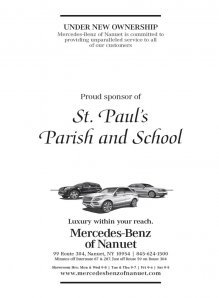 Mercedes-Benz of Nanuet Supports St Pauls Parish