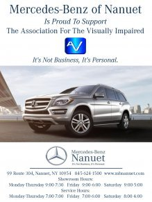 Mercedes-Benz of Nanuet Supports The Visually Impaired
