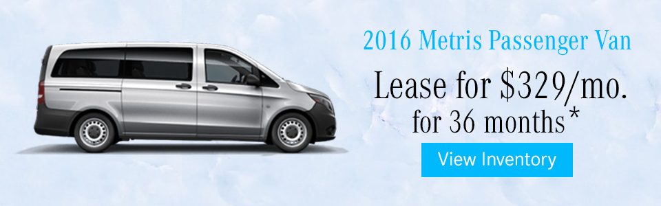 Mercedes benz vans specials mercedes benz of nanuet for Mercedes benz credit score requirements