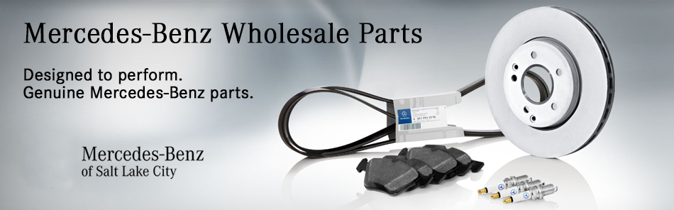 Mercedes Benz Of Salt Lake Cityu0027s Wholesale Parts Department Has  Considerable Experience Working With Mercedes Benz Parts. We Are Dedicated  To Providing You ...