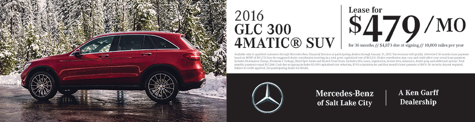 2016 GLC300 | Mercedes-Benz of Salt Lake City