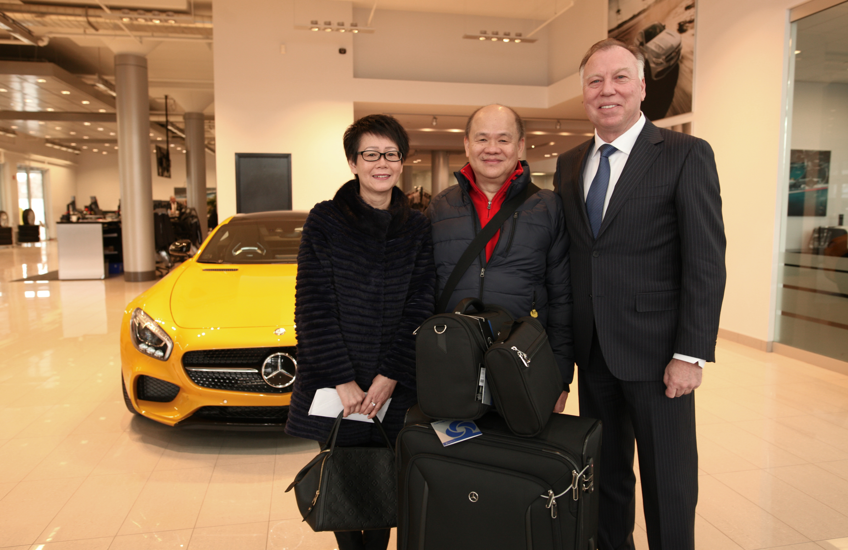 Mercedes Benz Midtown >> Congratulations To Our Stay Connected To Getaway Contest