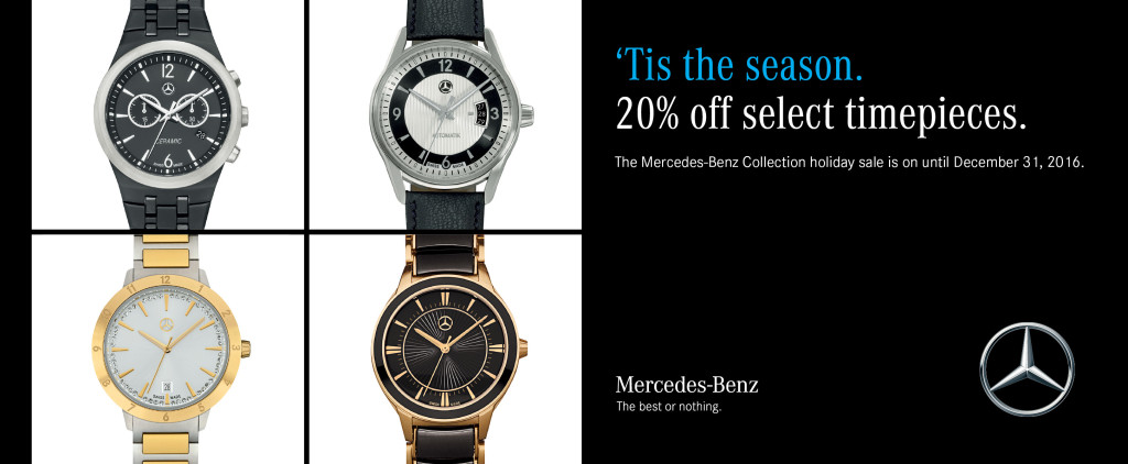 Mercedes benz collection holiday sale mercedes benz boundary for Mercedes benz accessory