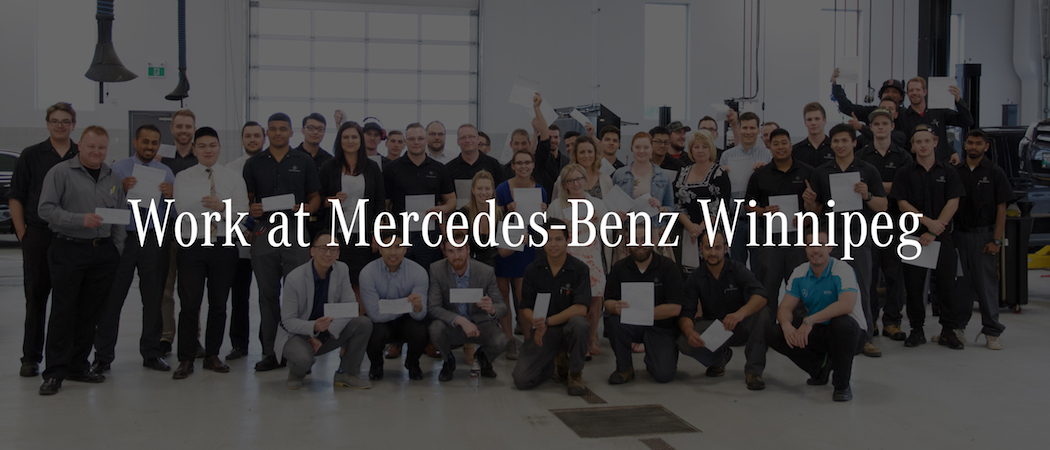 Mercedes benz winnipeg dealership automotive jobs for Mercedes benz career